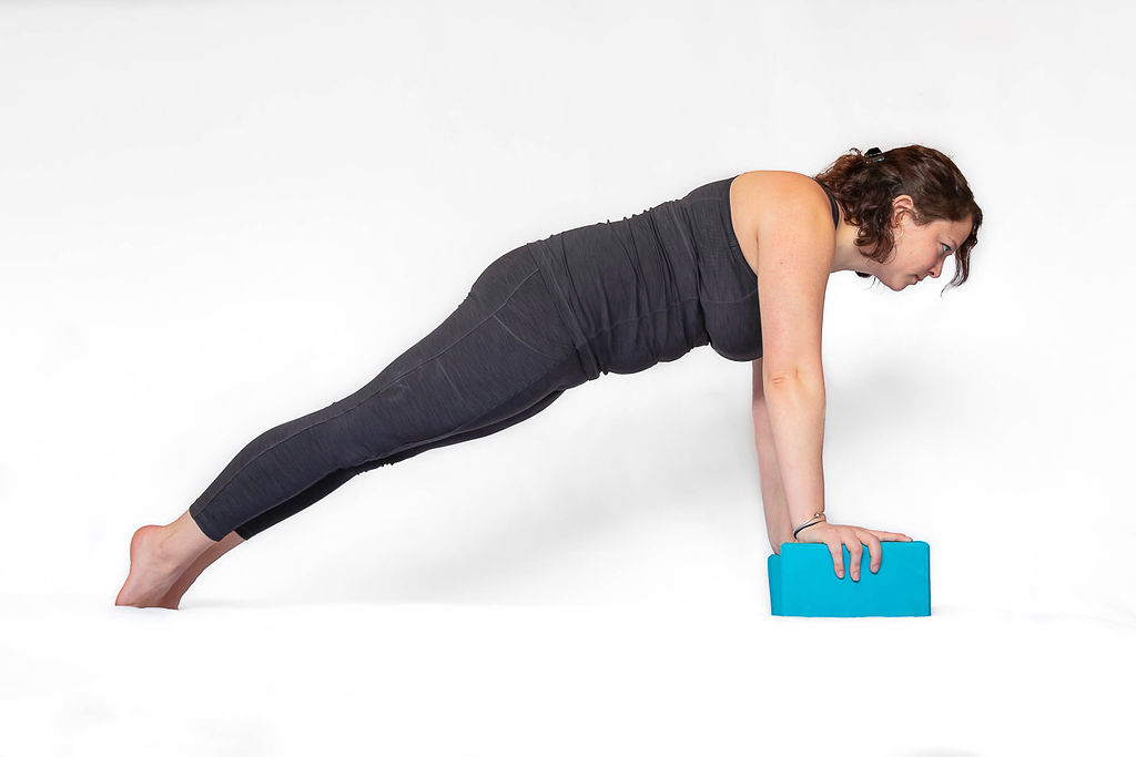 Push up with block
