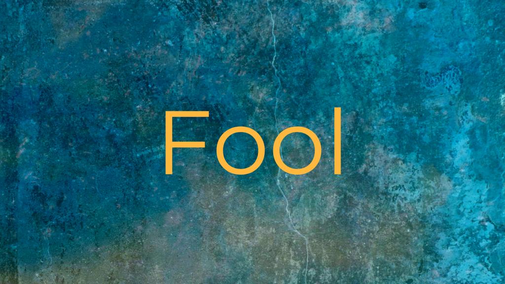 Fool Archetype
